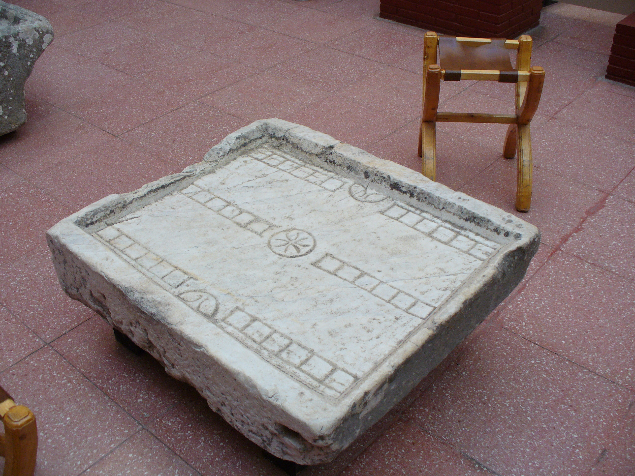 Duodecim Scripta. 100 BCE. Ephesus Museum, Turkey. Photo: December 12, 2006.