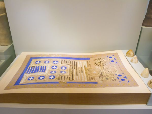 Knossos Game, Heraklion Archaeological Museum, Crete - Photo - Garrett Ziegler, April 21, 2016