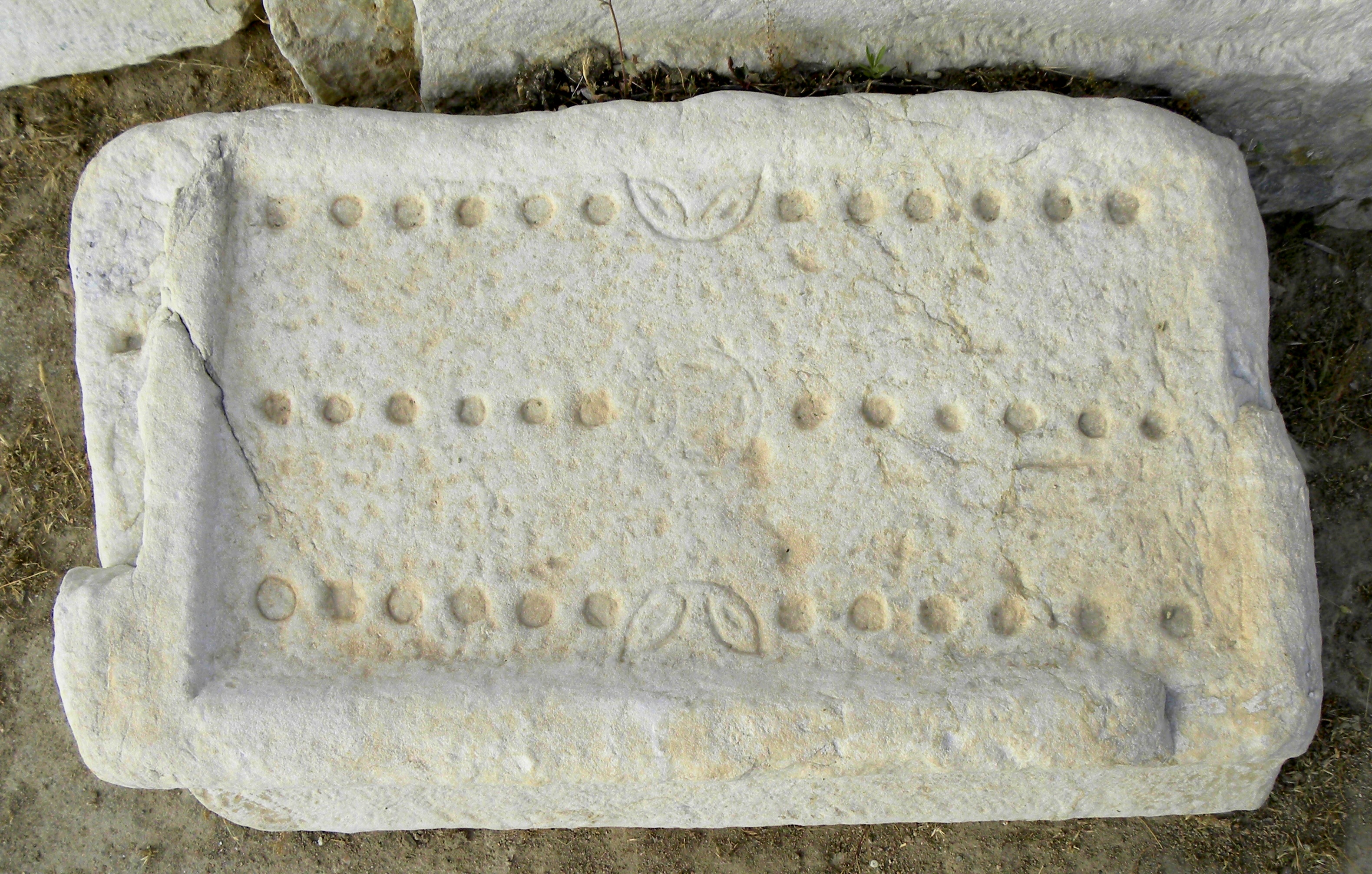Duodecim Scripta in Roman Laodicea, Turkey. Photo: Ian Scott, May 9, 2010.