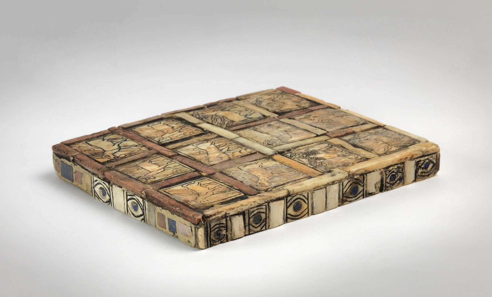 Game from the Tomb of Puabi in the Penn Museum, B16742. Photo: Penn Museum.